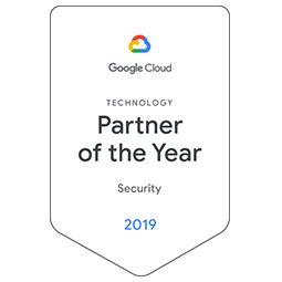 2019 Google Cloud Technology Partner of the Year for Security