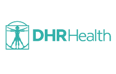 Logotipo de DHR Health
