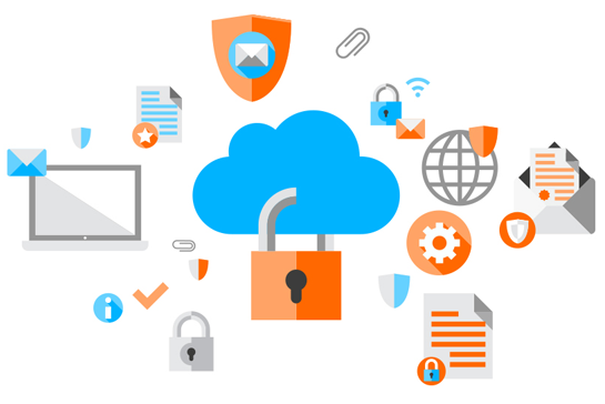Gráfico de Cloud Security