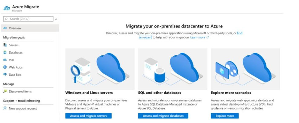 Migrate Data Centers image