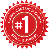 #1 Global content security small business