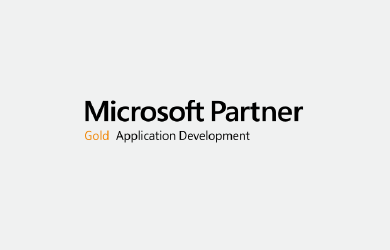 Microsoft Partner Gold Application Development logo