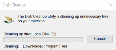 Disc Cleanup