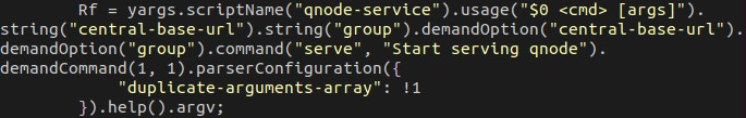 """QNodeService"" used internally in the code"
