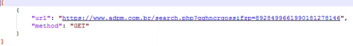 Requested URL