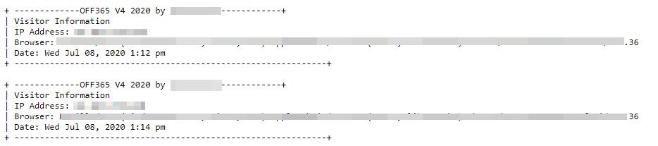 圖14. 存取日誌讓我們能夠確定在公告前一天使用的IP地址。前五大IP地址都追踪到摩洛哥。