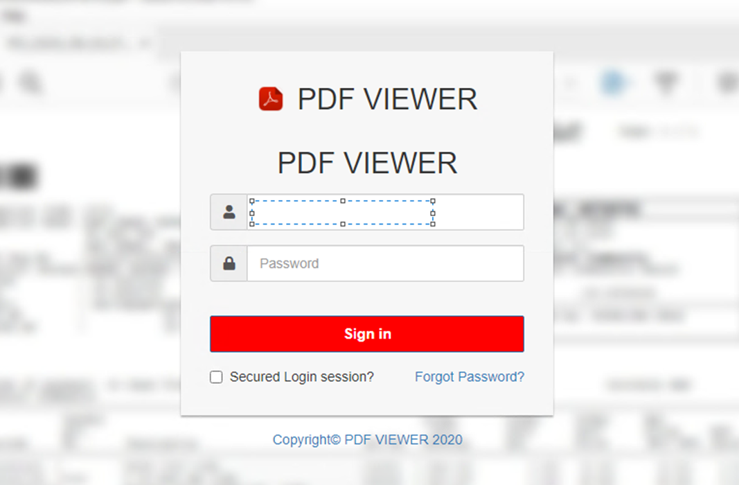Figure 6. An HTML attachment that leads to a phishing page