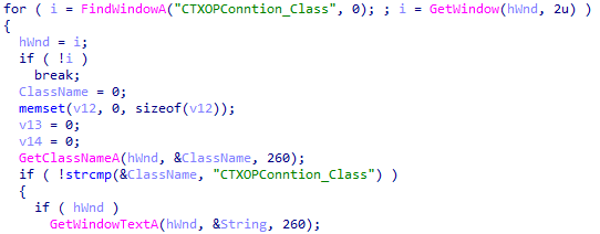 Continuation of the code used to obtain user QQ numbers