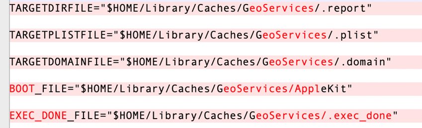 """Figure 12. The working folder changed from """"GemeKit"""" to """"GeoServices"""""""