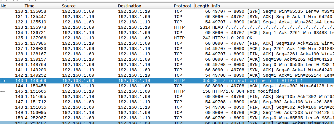 Network capture of a FormBook document sample