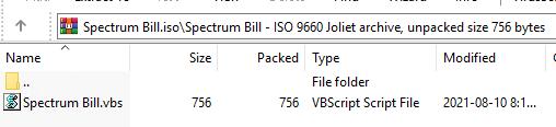 """Figure 9. """"Spectrum Bill.iso"""" content"""